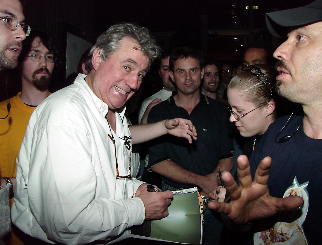 Former Monty Python Terry Jones