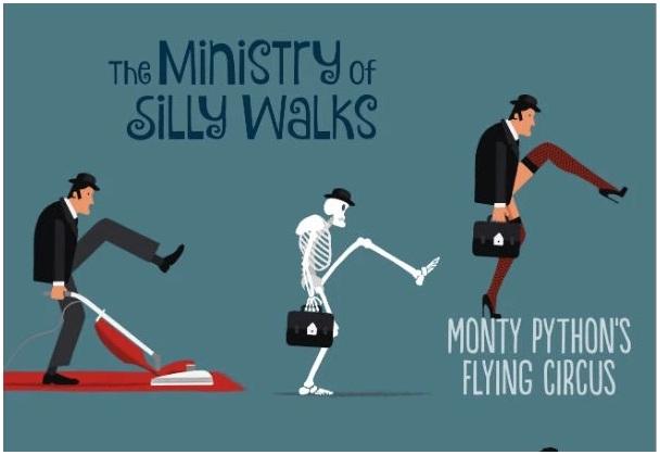"""""""Silly Walk"""", de David Merveille"""