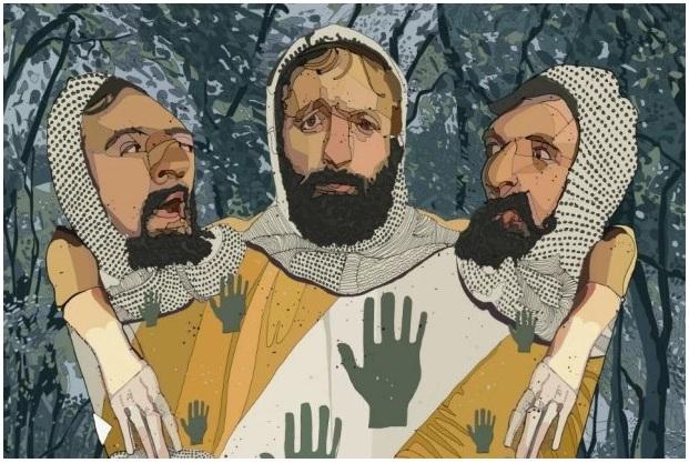"""""""The Three-Headed Knight"""", de Tony Rodriguez"""