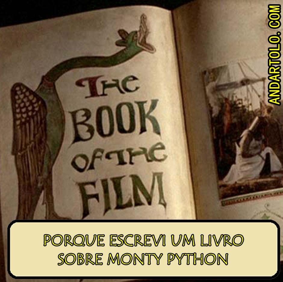 Eu escrevi um livro sobre Monty Python