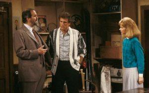 John Cleese conversa com o casal