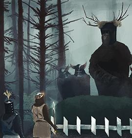 Os Cavaleiros Que Dizem Ni!, do filme Monty Python em Busca do Cálice Sagrado