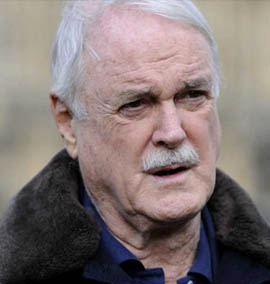 John Cleese, do Monty Python, é a favor dos artistas