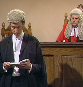 Juiz faz referência a Monty Python em julgamento